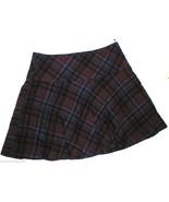 NWT $198 Womens New Ralph Lauren Plaid Skirt Wa... - $198.00