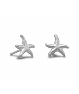 Small 1/2in Solid .925 Sterling Silver Starfish... - $10.99