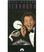 Scrooged VHS Bill Murray Karen Allen John Forsy... - $1.99
