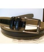 Tommy Bahama Men's Belt, Pellegrino, Olive/Blk,... - $58.00