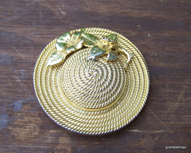 Brooch Pin Vintage Hat Lot # 281