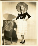 Alice FAYE Original Old HOLLYWOOD c.1930's Fash... - $14.99