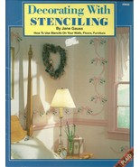 Decorating With Stenciling Softcover Book Jane ... - $4.99