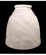 Frosted Swirl White Light Shade 2 1/4 X 4 5/8 C... - $10.00