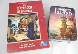 The Princes Of Florence Board Game Rio Grande 2... - $36.93