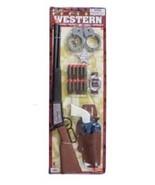 Western Cowboy Rifle & Peacemaker Dart Guns Toy... - $24.70