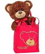 Build a Bear Teddy in a Red Gift Bag 10 in. Stu... - $49.95