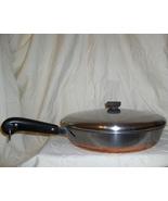 1949-1968  Revere Ware Copper Bottom 12 inch Ch... - $124.95