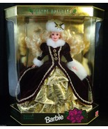1996 Happy Holidays Christmas Winter Barbie 4th... - $19.75