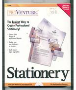 Software Stationery CD-Rom  PROVENTURE - $18.99