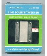 Tweeeter Line Source Realistic 40-1385 - $9.95