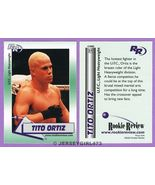 Jacob Christopher Tito Ortiz 2002 MMA UFC Rooki... - $14.00