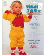 Patons 522 Knitting Pattern Child Knit Sweaters... - $4.93