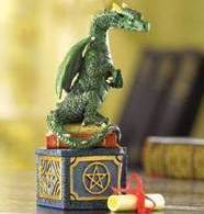 Dragon Wishing Trinket  Box