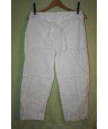 Jones New York Sport White Cotton Capris   SZ 1... - $5.99
