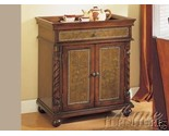 Buy Old World Hall Chest Cabinet Living Room Furniture Tray