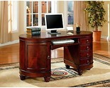 Buy Kidney Shaped Brown Cherry Home Office Desk Keyboard