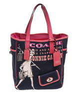 Coach Blue and Pink Printed Tote Handbag - $95.00