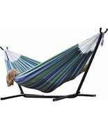 Wide Double Hammock Camping Portable 2 Person O... - $186.46