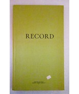 Accounting Record Book 8.5x14 Ruled Alphabet Ta... - $11.99