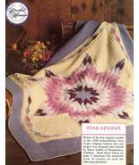 Prize Winning Star Quilt Afghan Crochet Pattern... - £9.64 GBP