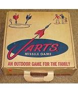 1961 JARTS MISSILE GAME Vintage Yard/Lawn Darts IOB NICE!!! - $130.00