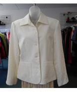 Norton McNaughton Ivory blazer size 12 NWT - $19.80
