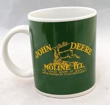JOHNE DEER MUG LICENSED PRODUCT MOLINE ILL BY G... - $5.93