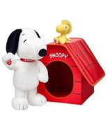 Build a Bear Snoopy Woodstock Doghouse 2015 Pea... - $399.99