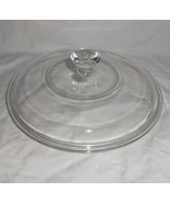 PYREX #623-C Round Clear Glass 8