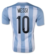 Messi Argentina Home Jersey 2015 Copa America M... - $29.99