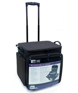 XXL Rolling Tote Craft Scrapbook Wheels Telesco... - $125.72