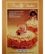 Fibre Craft Merry Sunshine Crochet Pattern Leaf... - $5.95