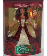 Disney Holiday Princess Belle Doll Holiday 1997... - $99.95