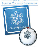 French Country Snowflake cross stitch chart JBW... - $5.40