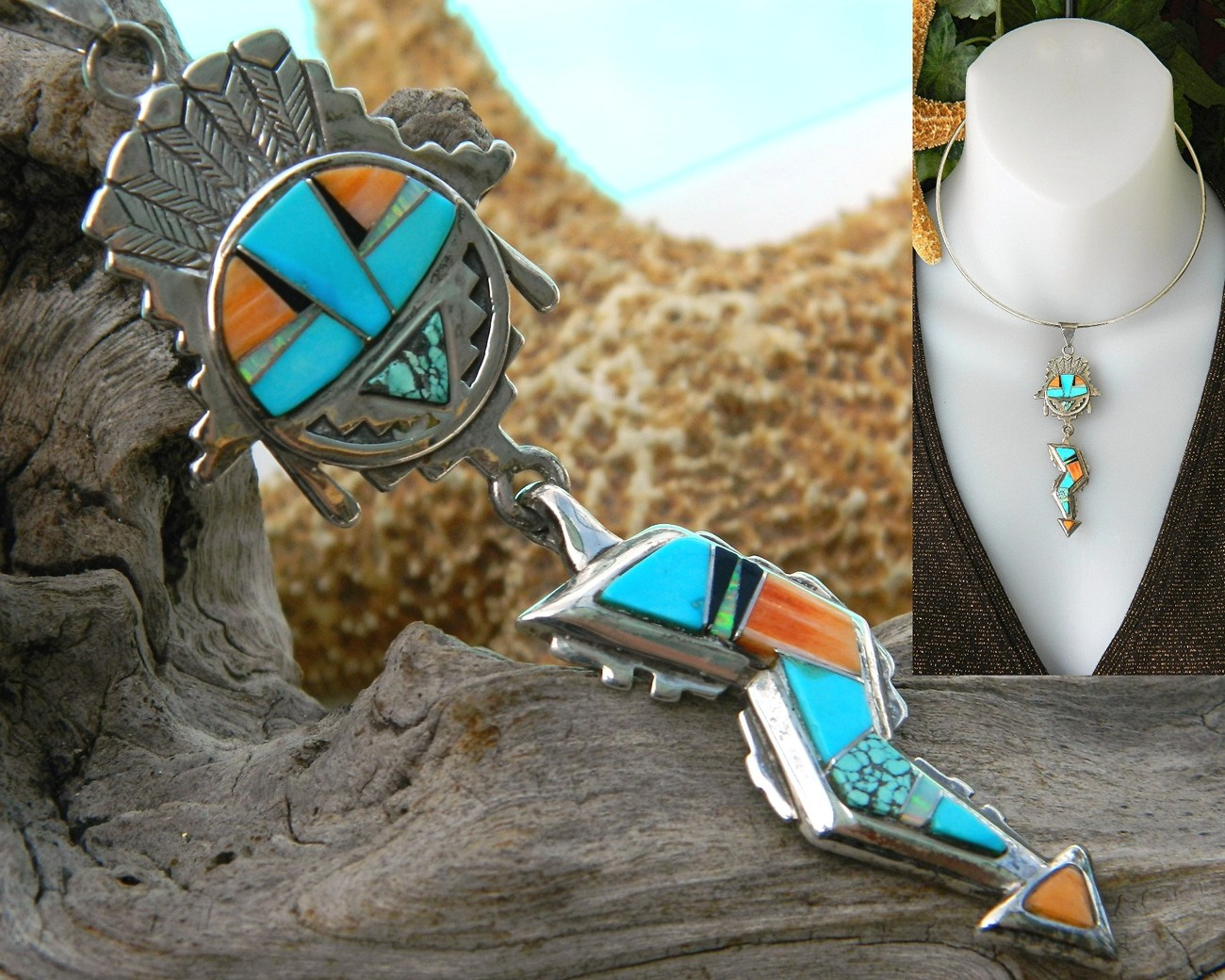 Native_american_inlay_sterling_pendant_necklace_calvin_begay