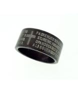 Ring - Titanium - Lord's Prayer in Spanish - $15.00