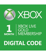 1-Month Xbox 360/ONE Live Membership Gold Card ... - $13.90