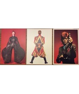 David Bowie Is Three Postcard Set V&A Exhibition  - $24.00