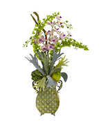Light Purple Orchid & Green Bells of Ireland w/... - $106.91