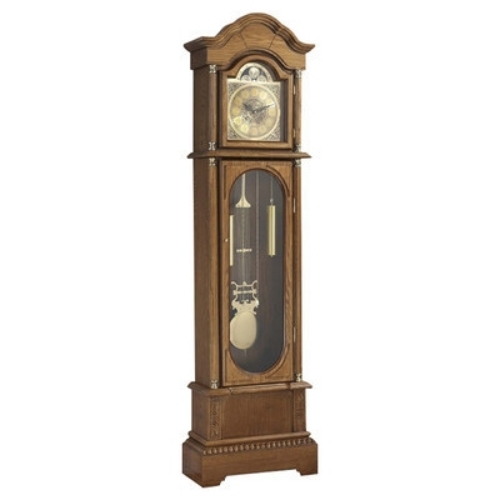 Grandfather clock modern floor face corner wall chime indoor clocks oak sale new grandfather - Wall hanging grandfather clock ...