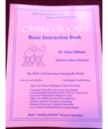 Camel Crochet Basic Instruction Book and Four P... - $12.00