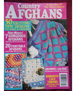 Country Afghan Designs anf Instructions 100 pag... - $9.99