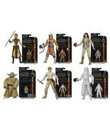 Star Wars The Black Series 3.75 inch figures Wa... - $84.95