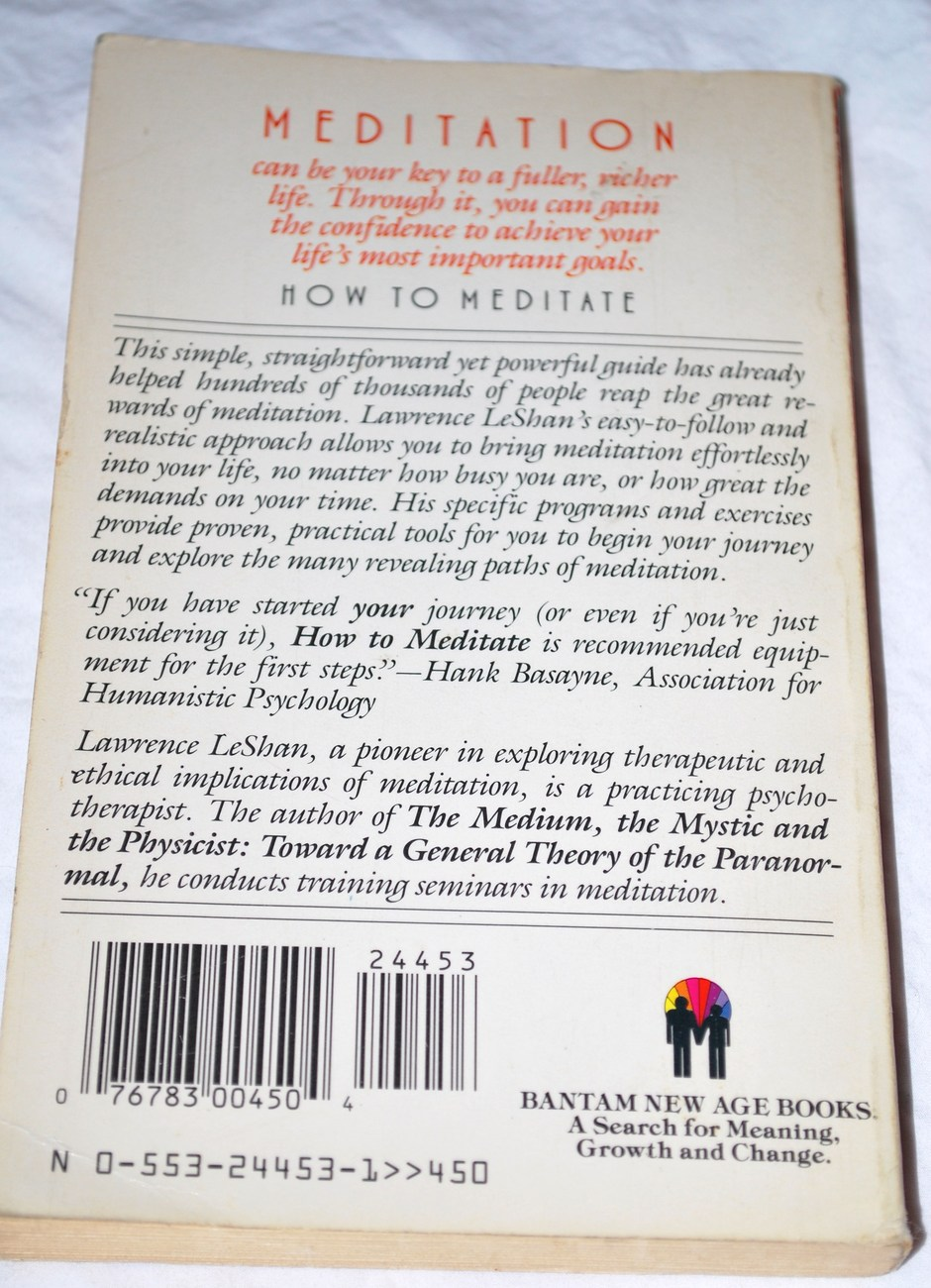How_to_meditate_paperback_book_back