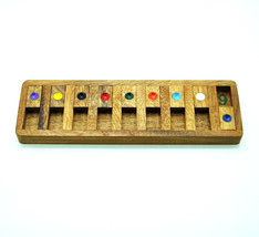 Shut The Box-Classic Wooden Board game-Witty an... - $9.99
