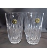 NEW in BOX (4) 12 ounce Tumblers Highlights Gla... - $21.00