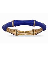 Bright Summer Blue Bamboo Fashion Stretch Bangl... - $20.97
