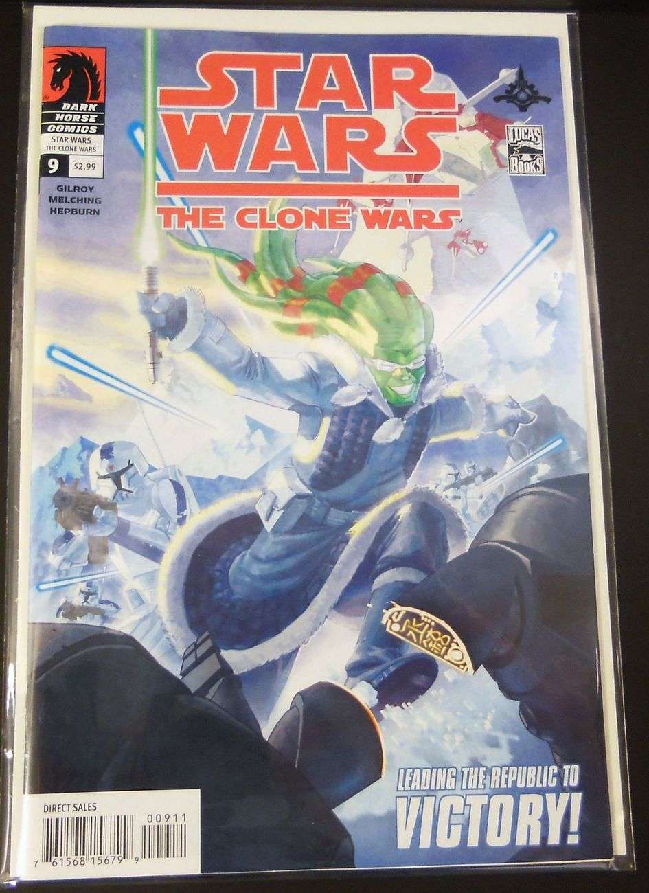 Star Wars Clone Wars Dark Horse Comics 9 Leading the Republic to Victory
