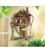 Treehouse Wood Birdhouse - $19.95